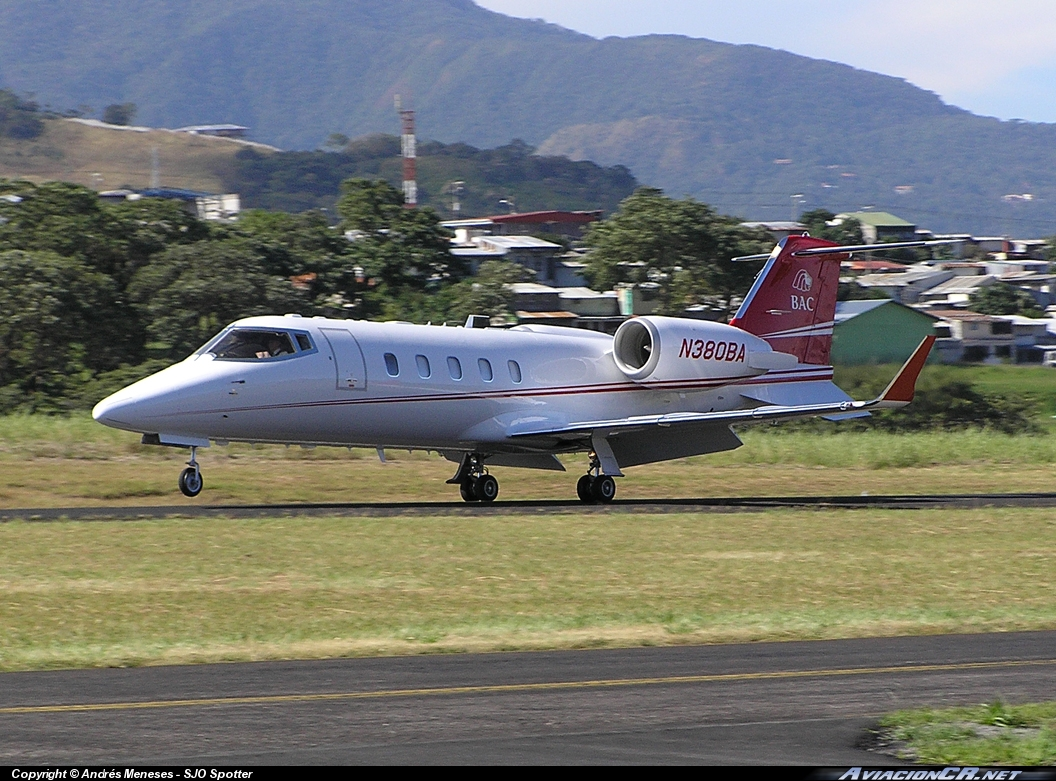 N380BA - Learjet 60 - Credomatic Air Services