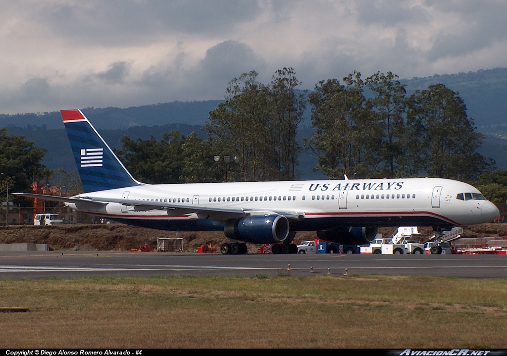 N607AU - Boeing 757-225 - US Airways