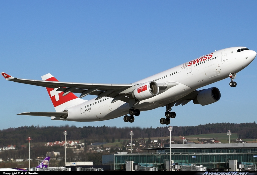 HB-IQP - Airbus A330-223 - Swiss International Air Lines