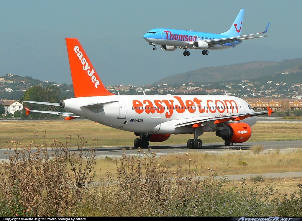G-EZIS - Airbus A319-111 - EasyJet Airlines