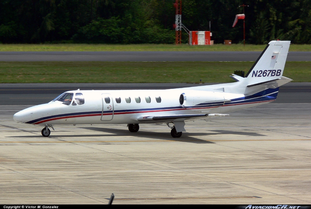 N267BB - Cessna 550 Citation II - Bohlke International Arways INC