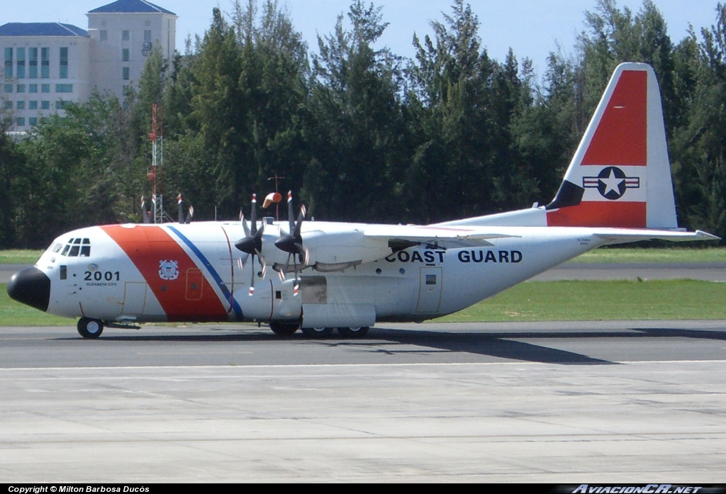 2001 - Lockheed C-130J-30 Hercules (L-382) - US Coast Guard