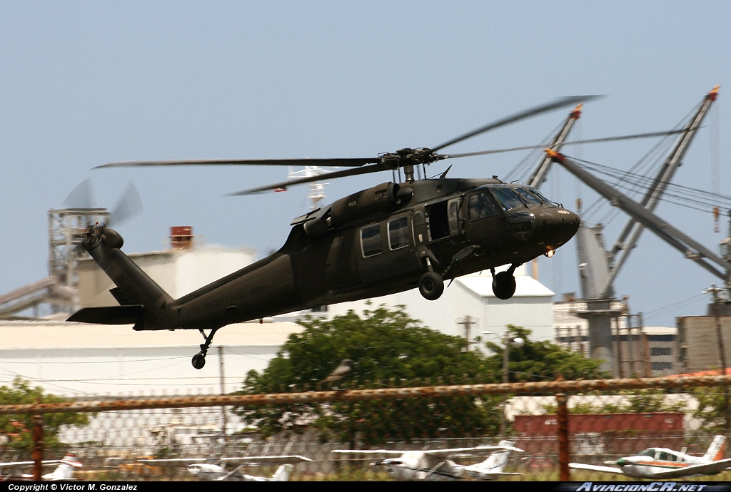 468 - Sikorsky UH-60A(C) Black Hawk (S-70A) - USA-National Guard