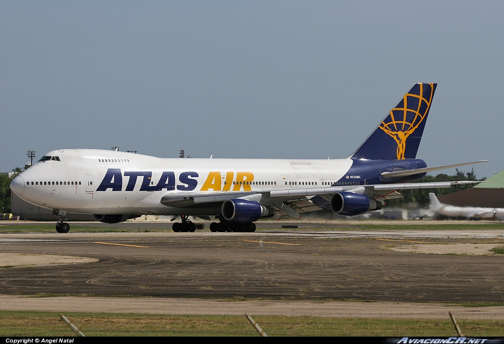 N526MC - Boeing 747-2D7B (SF) - Atlas Air