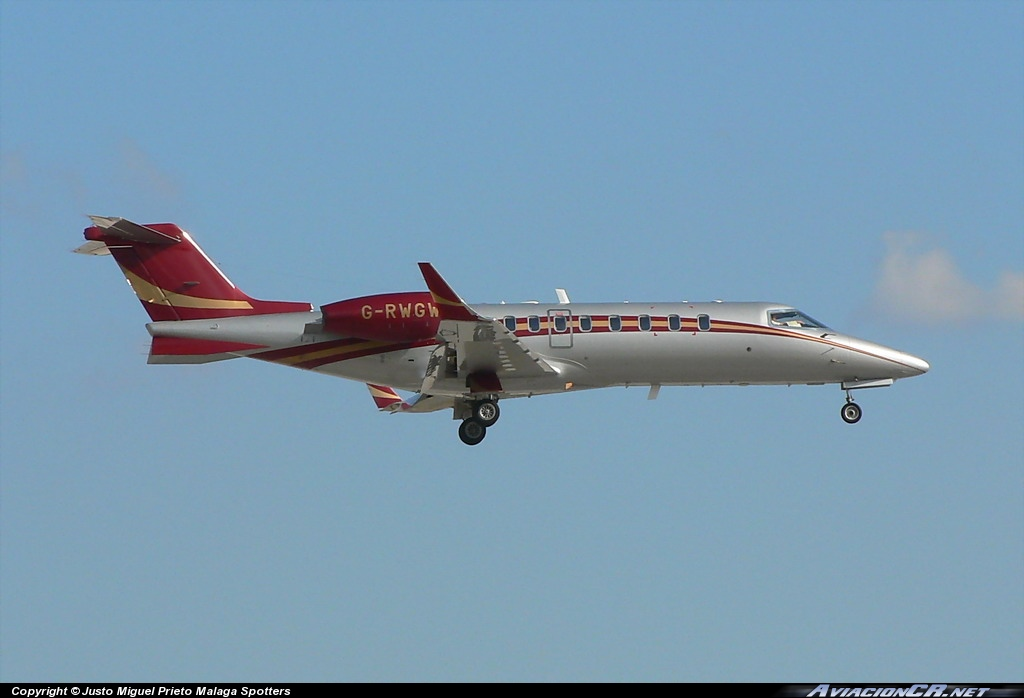 G-RWGW - Learjet 45 - Woodlands Air