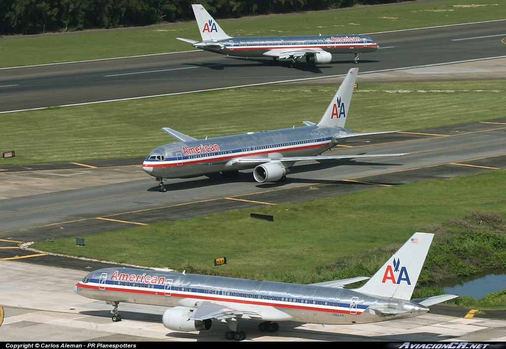 N654A - Boeing 757-223/ET - American Airlines