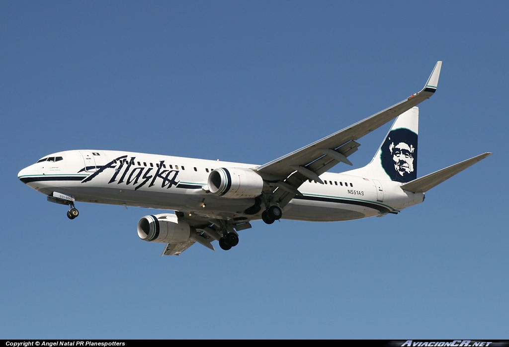 N551AS - Boeing 737-89L - Alaska Airlines