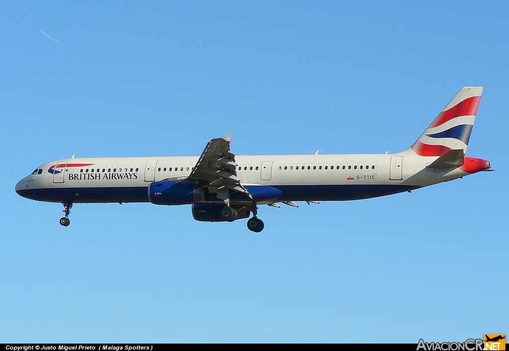 G-TTIC - Airbus A321-231 - British Airways