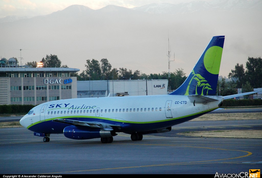 CC-CTD - Boeing 737-2Q3/Adv - Sky Airline
