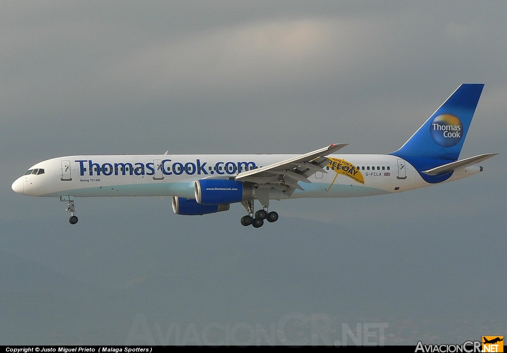 G-FCLA - Boeing 757-28A - Thomas Cook