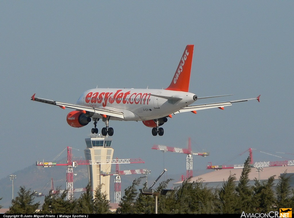 G-EZIT - Airbus A319-111 - EasyJet Airlines