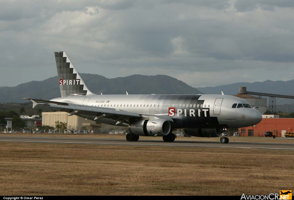 N526NK - Airbus A319-111 - Spirit Airlines