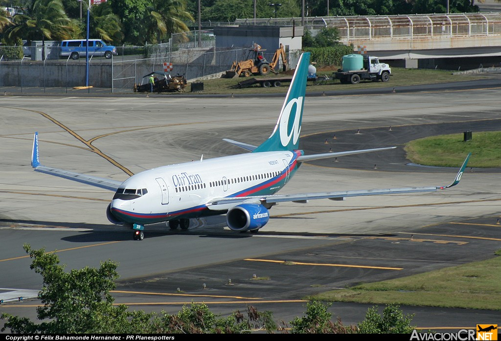 N291AT - Boeing 737-76N - Air Tran