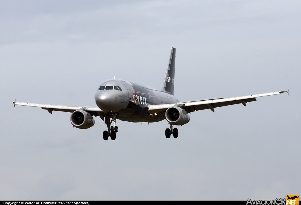 N511NK - Airbus A319-132 - Spirit Airlines