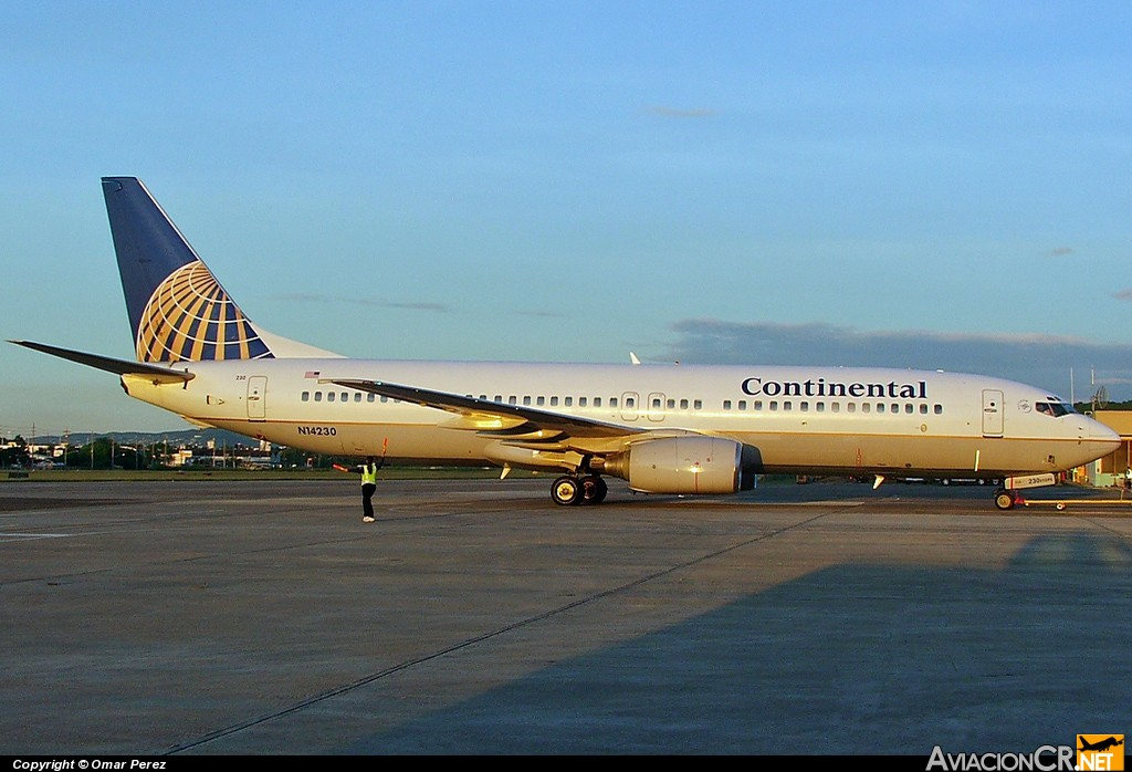 N14230 - Boeing 737-824 - Continental Airlines