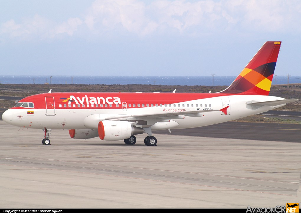 HK-45512 - Airbus A319-112 - Avianca Colombia