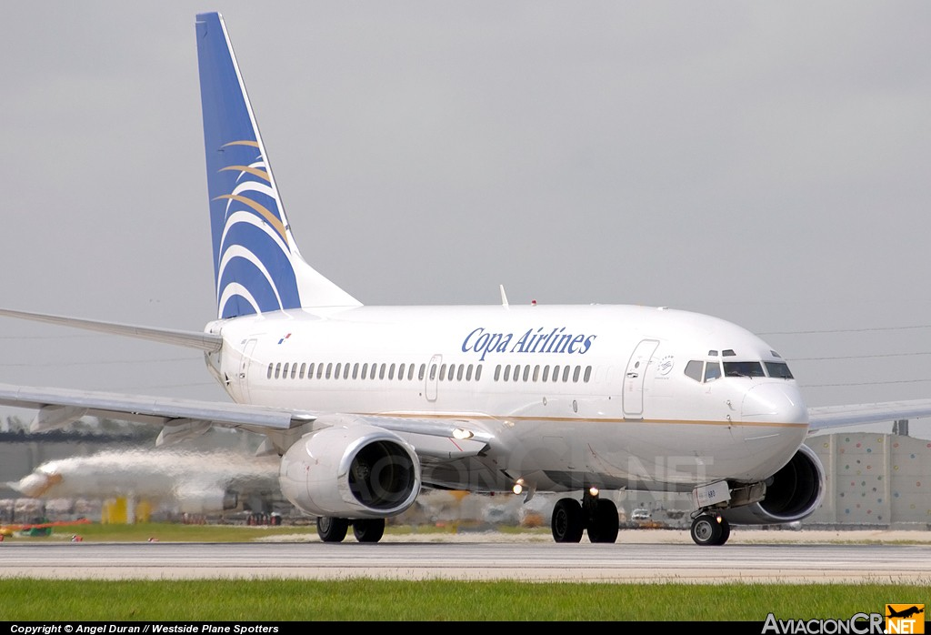 HP-1380CMP - Boeing 737-7V3 - Copa Airlines
