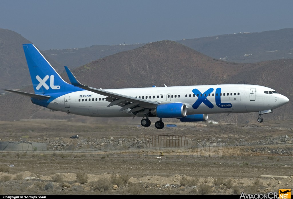 C-FTAH - Boeing 737-8Q8 - XL Airways