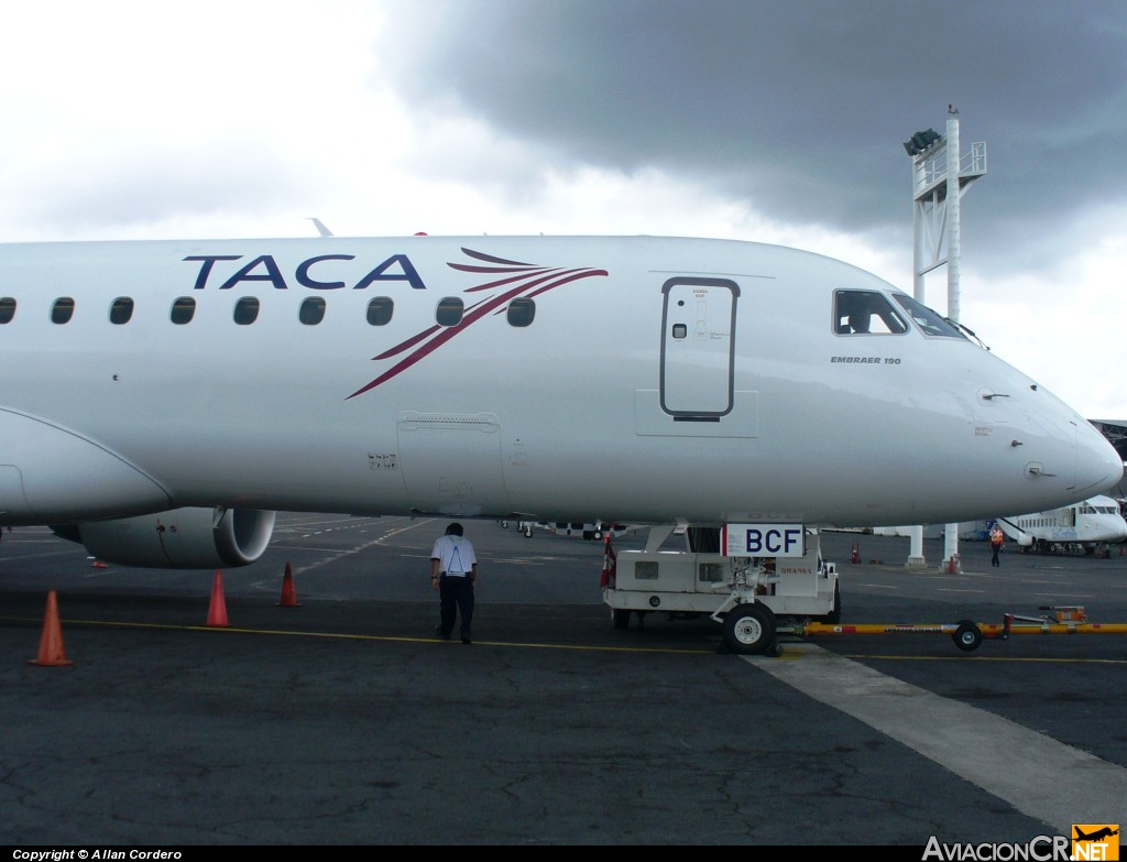 TI-BCF - Embraer 190-100IGW - TACA International Airlines