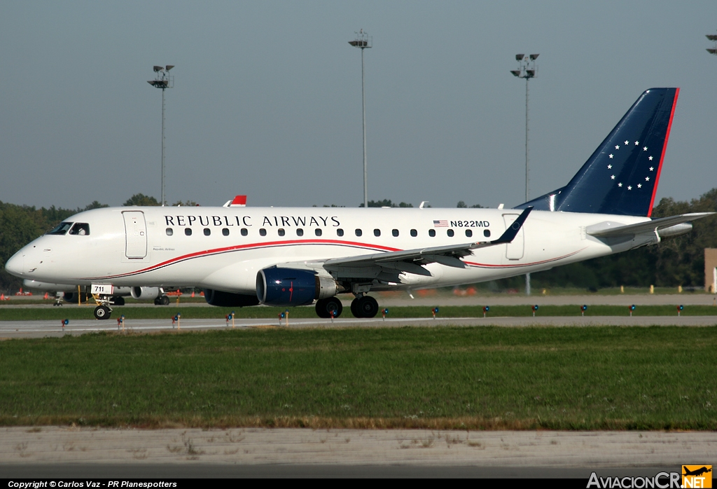 N822MD - Embraer ERJ-170-100SU - Republic Airways