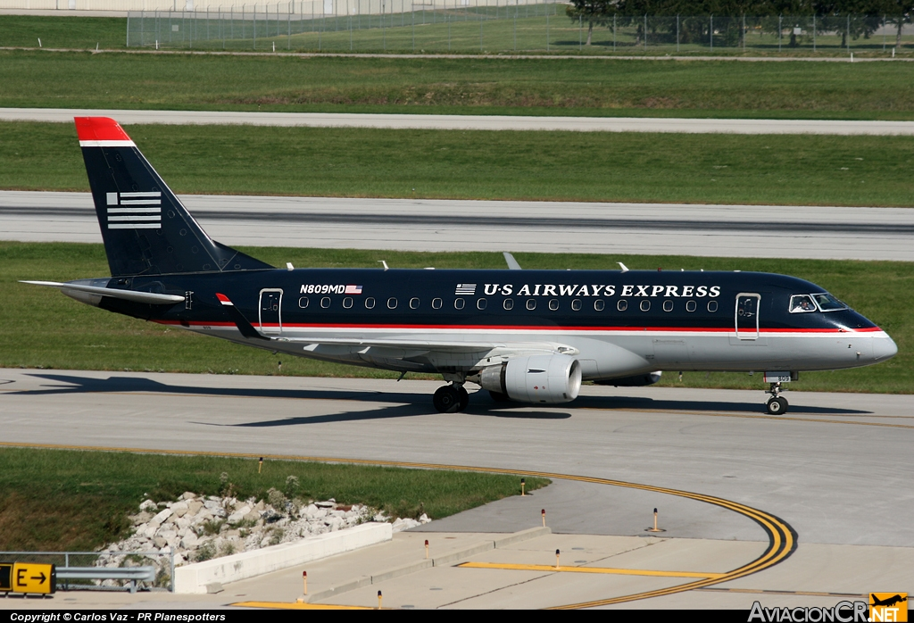 N809MD - Embraer ERJ-170-100SU - US Airways Express