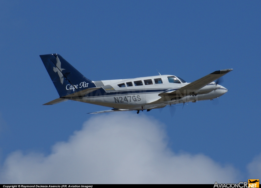 N247GS - Cessna 402 (Genérico) - Cape Air