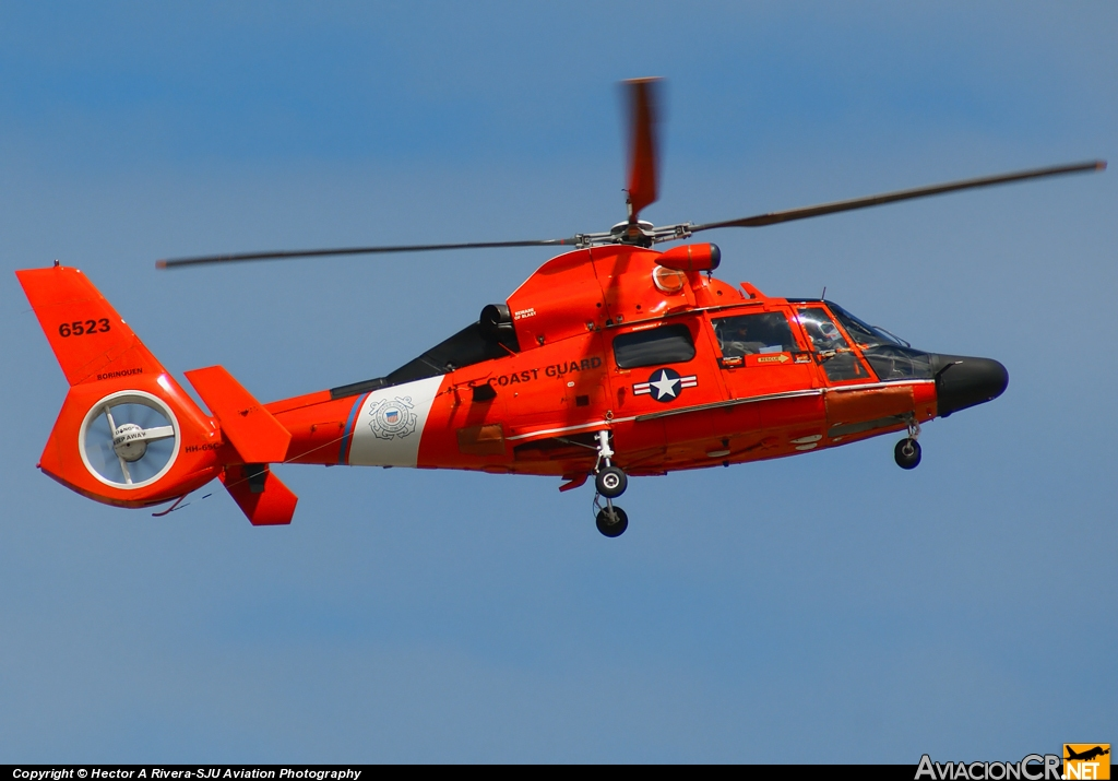 6523 - Aerospatiale HH-65B Dauphin (SA-366G-1) - US Coast Guard
