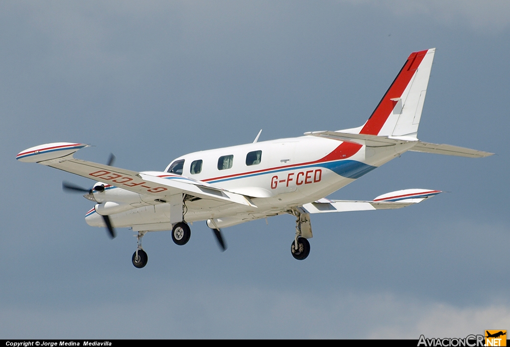 G-FCED - Piper PA-31T2-620 Cheyenne IIXL - Air Medical Ltd