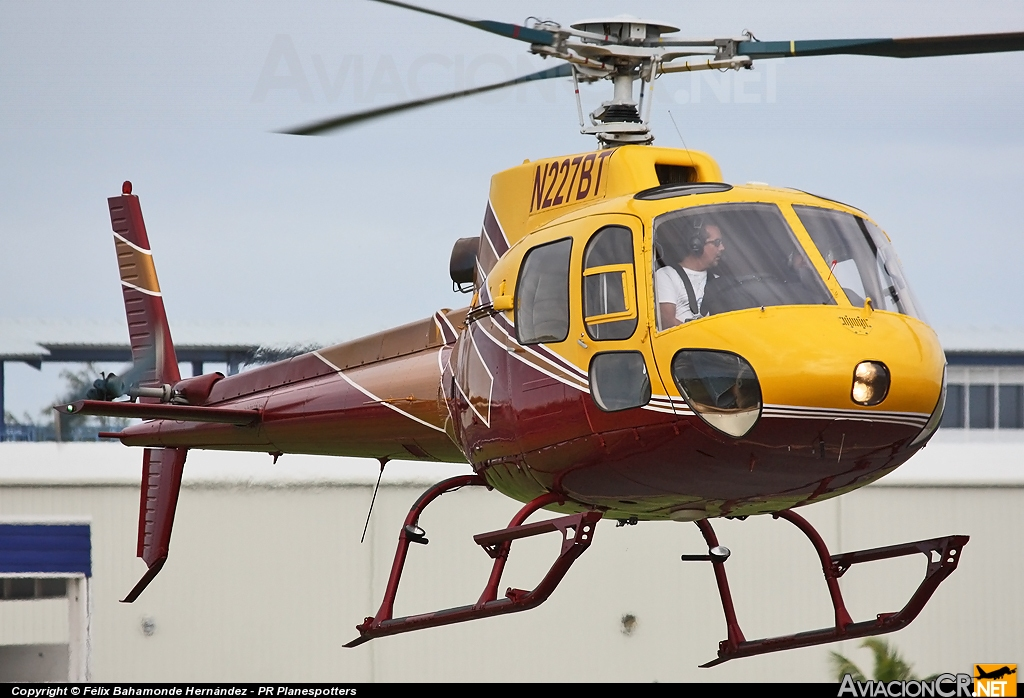 N227BT - Aerospatiale AS350B - Heliways Corp.