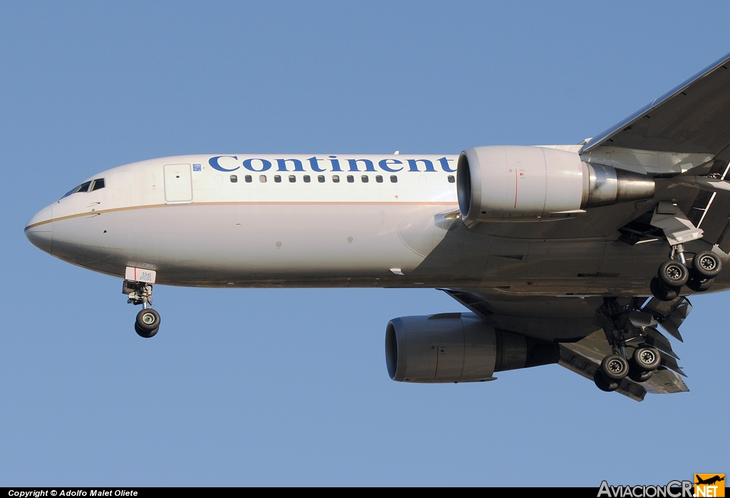 N76156 - Boeing 767-224/ER - Continental Airlines