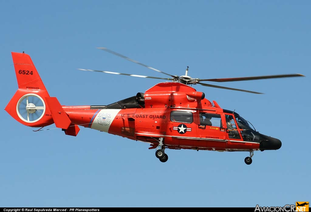 6524 - Aerospatiale HH-65B Dauphin (SA-366G-1) - US Coast Guard