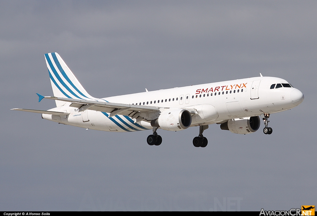 YL-BBC - A320-211 - SmartLynx Airlines
