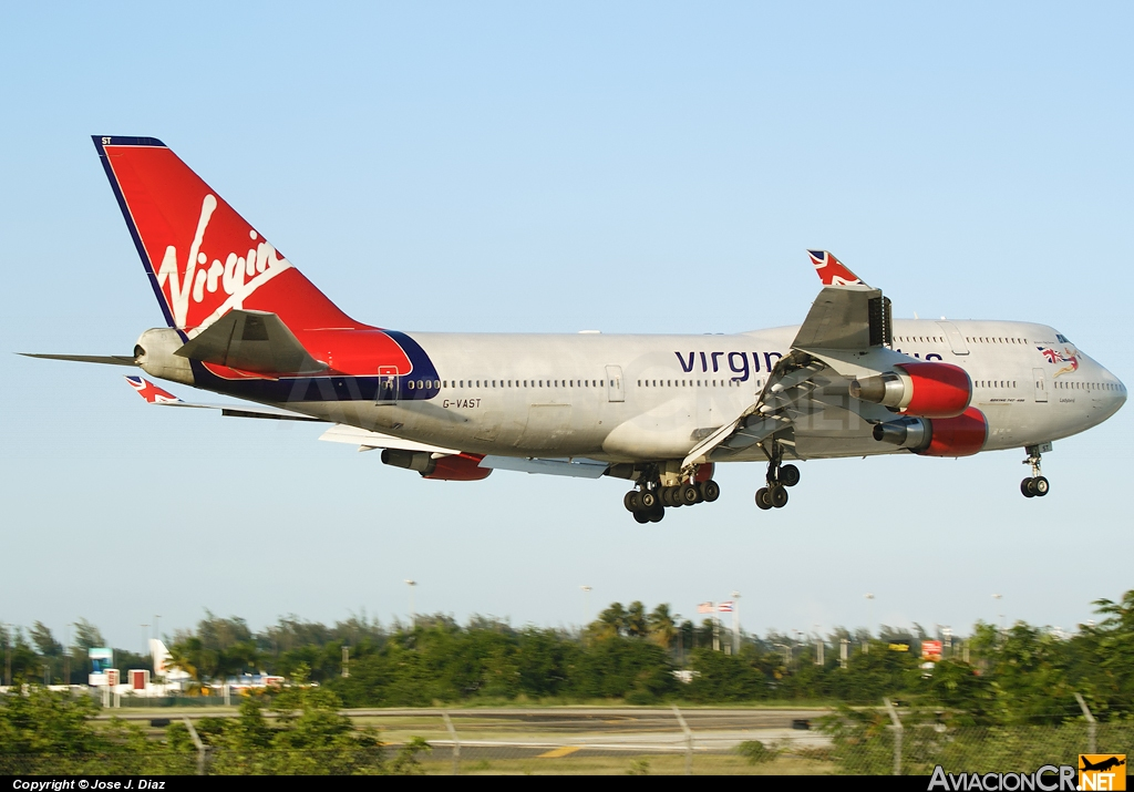 G-VAST - Boeing 747-41R - Virgin Atlantic