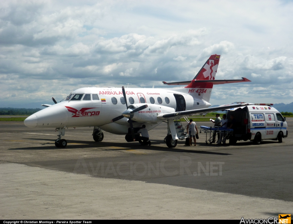 HK-4394 - British Aerospace BAe-3101 Jetstream 31 - SARPA Colombia