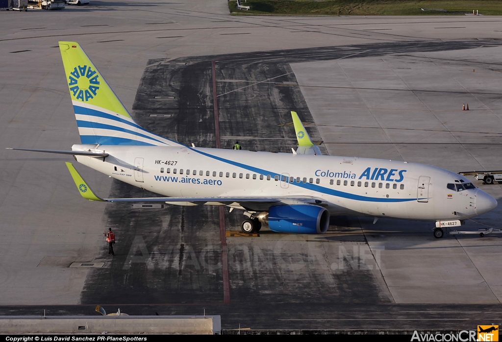 HK-4627 - Boeing 737-73S - Aires Colombia
