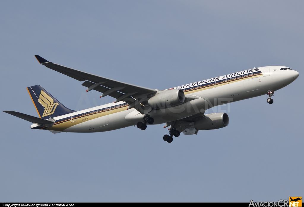 9V-STC - Airbus A330-343E - Singapore Airlines