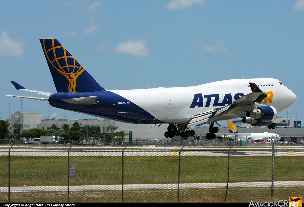 N429MC - Boeing 747-481(BCF) - Atlas Air