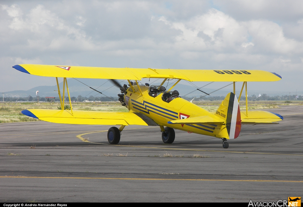 EPS 6098 - Boeing PT-17 Kaydet - Fuerza Aerea Mexicana FAM