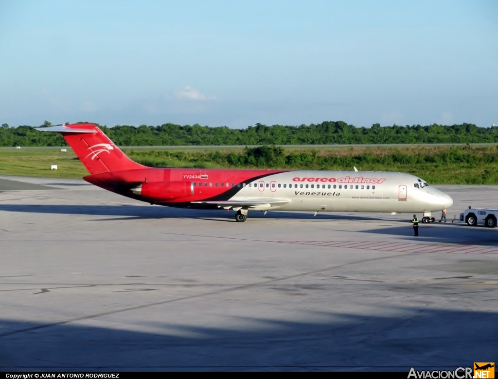 YV-2434 - McDonnell Douglas DC-9-32 - Aserca Airlines
