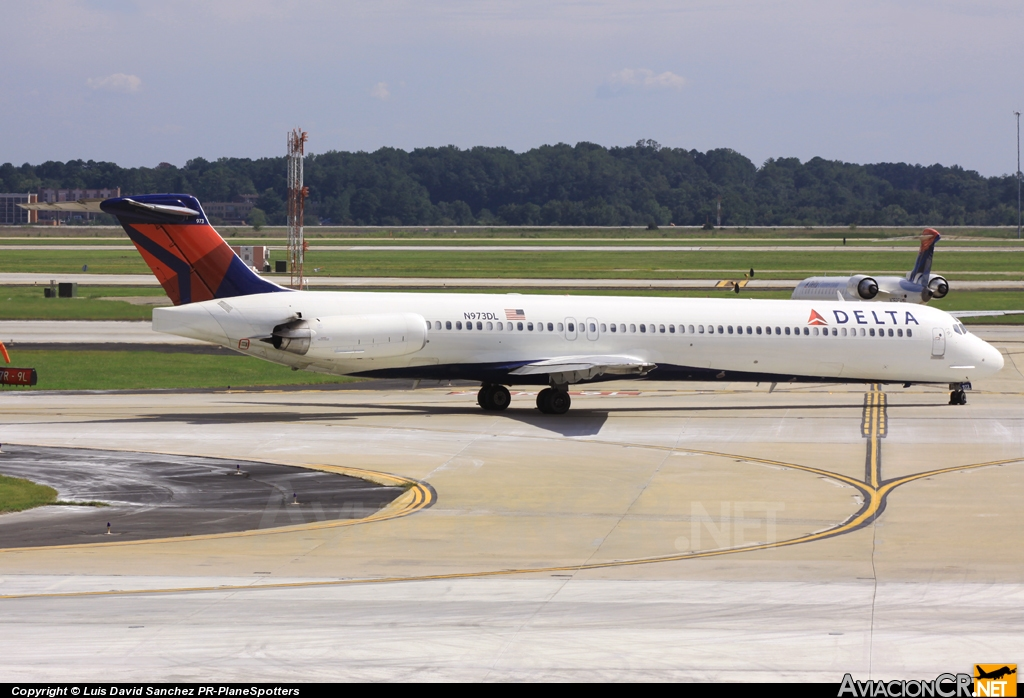 N973DL - McDonnell Douglas MD-88 - Delta Air Lines