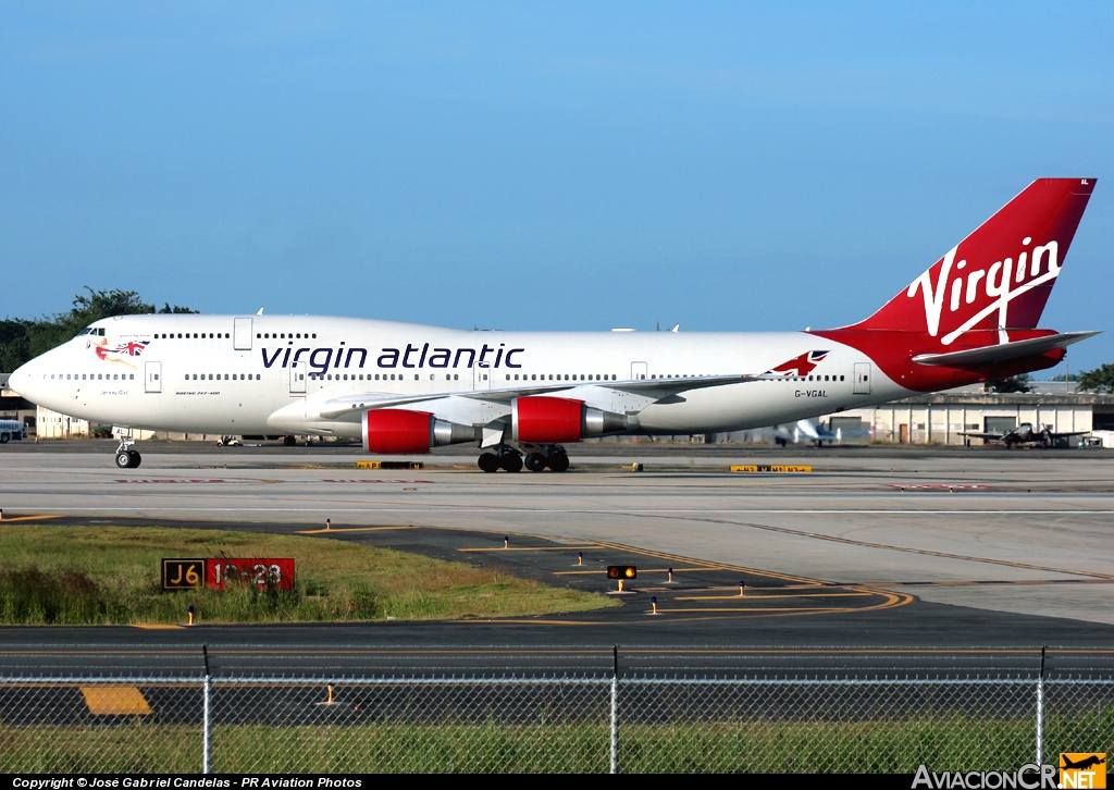 G-VGAL - Boeing 747-443 - Virgin Atlantic
