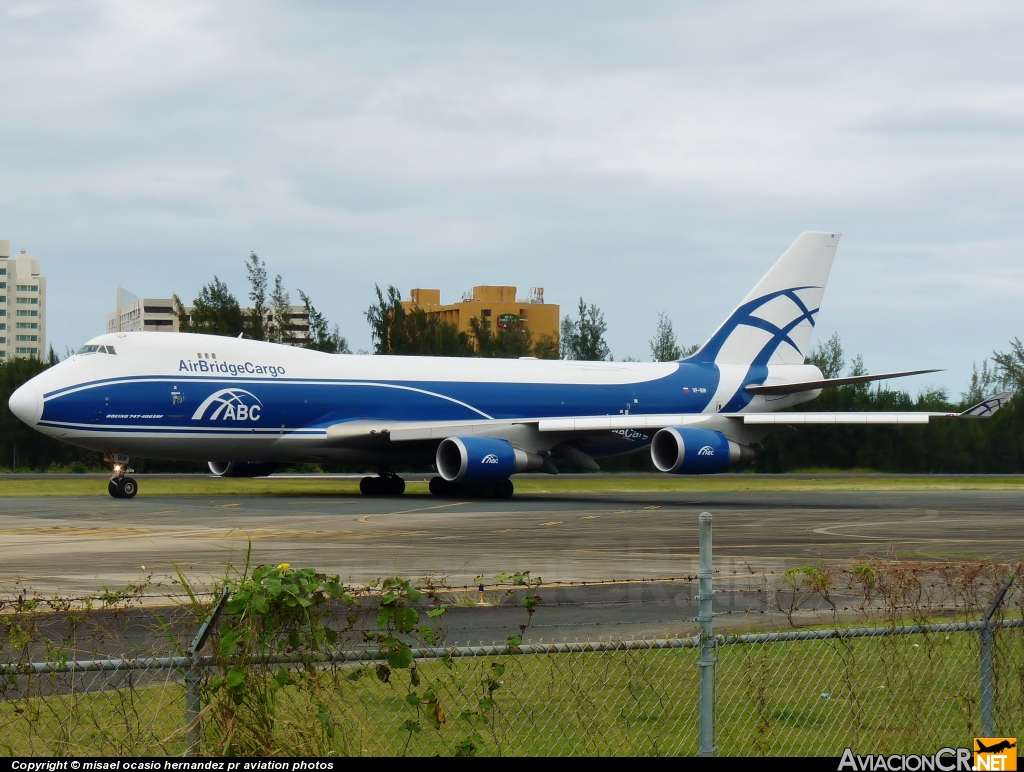 VP-BIM - Boeing 747-428F/ER/SCD - Air Bridge Cargo