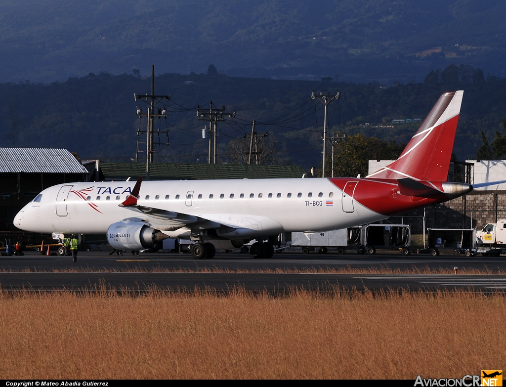 TI-BCG - Embraer 190-100IGW - TACA International Airlines