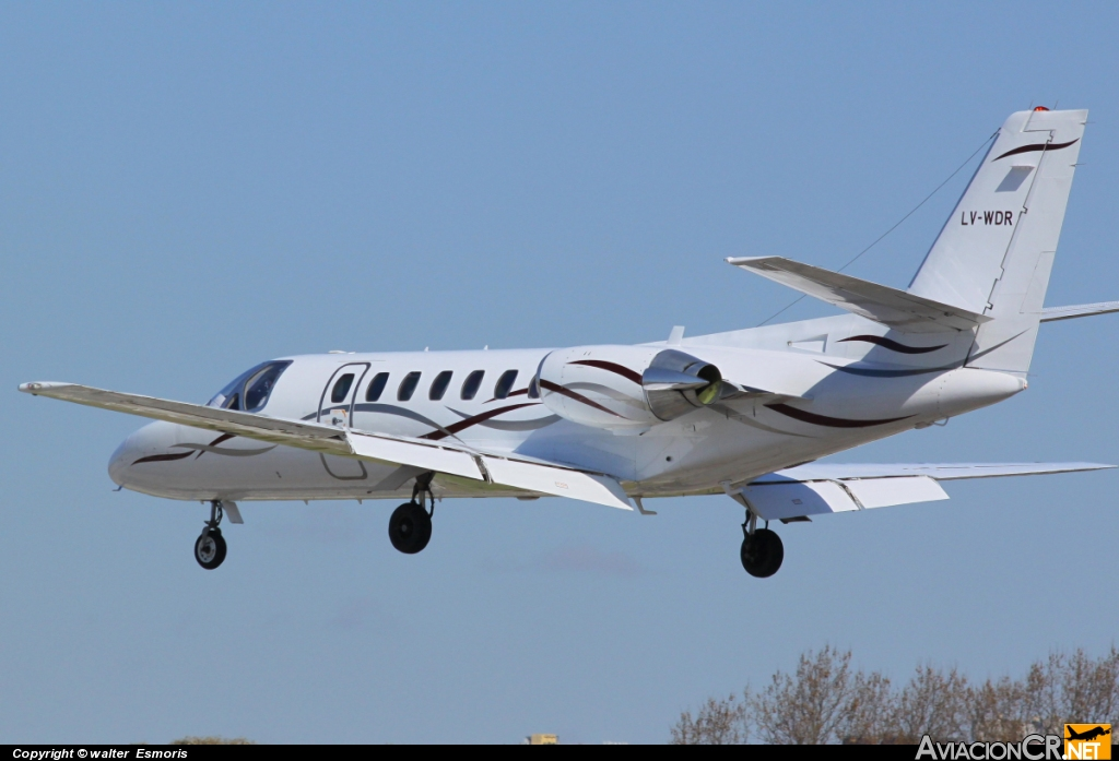 LV-WDR - Cessna 560 Citation V - Privado