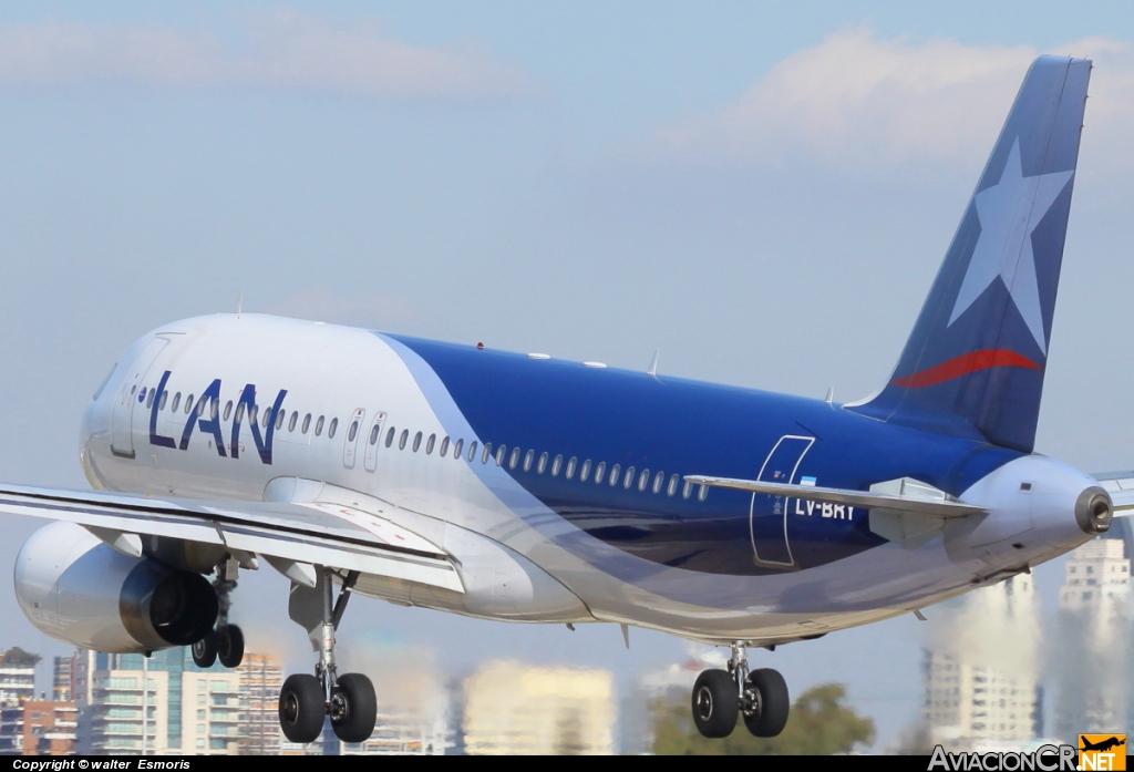 LV-BRY - Airbus A320-233 - LAN Argentina