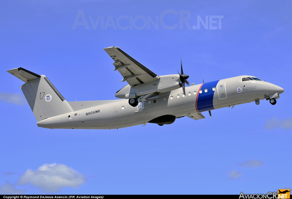 N806MR - De Havilland Canada DHC-8-315(MSA) Dash 8 - USA - Customs