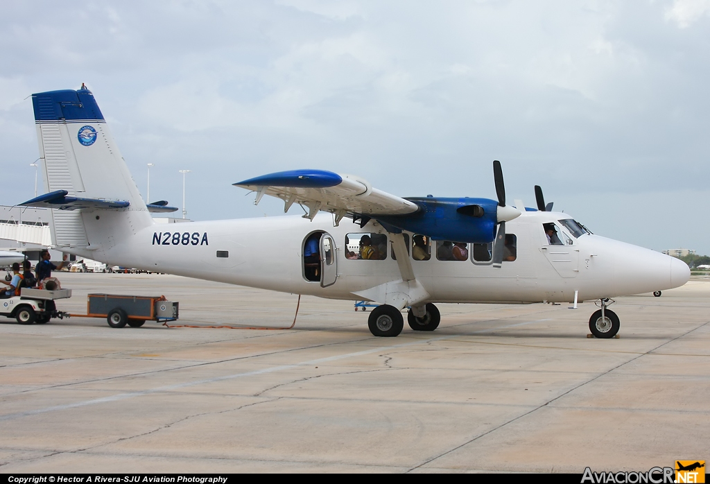 N288SA - De Havilland Canada DHC-6-300 Twin Otter - Seaborne AIrlines
