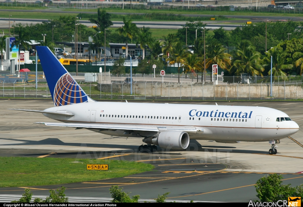 N67157 - Boeing 767-224/ER - Continental Airlines