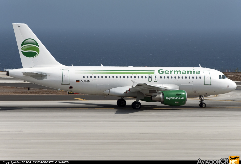 D-AHIM - Airbus A319-112 - Hamburg International