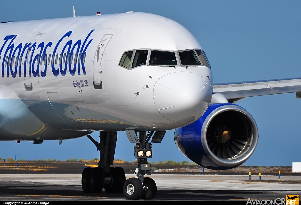 G-TCBA - Boeing 757-28A - Thomas Cook